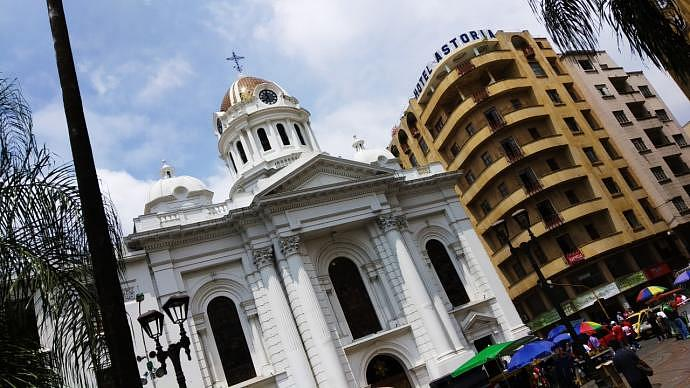 Catedral Metropolitana de Cali - Atractivos de la capital del Valle del Cauca