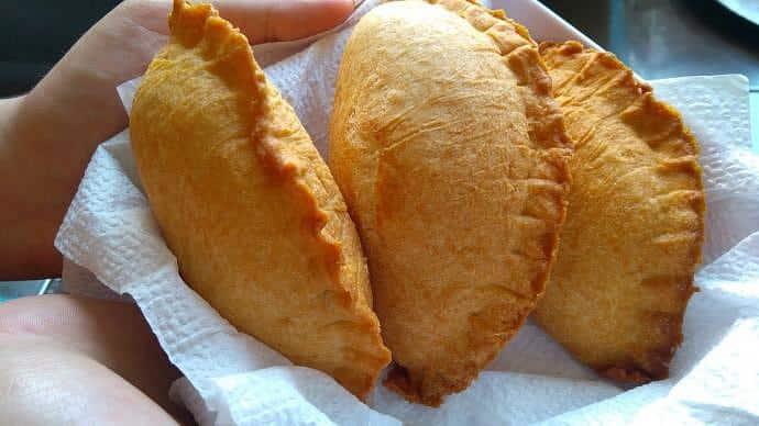 Comida callejera colombiana - Empanadas
