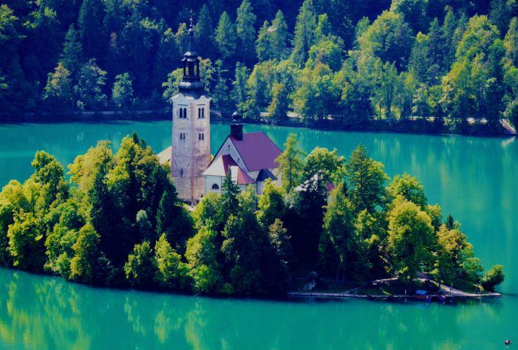 Dónde dormir en Bled, Eslovenia - Mejores zoanas y hoteles