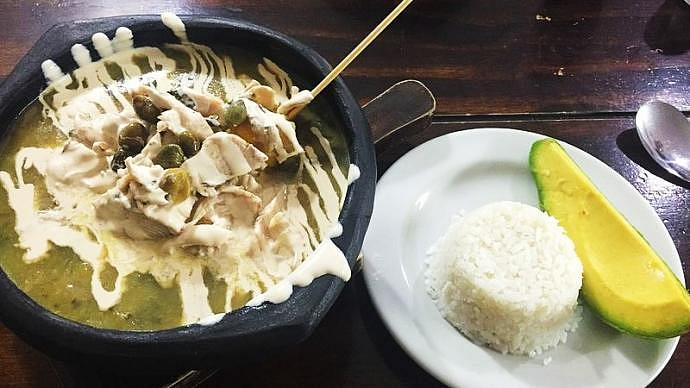 Gastronomía de Bogotá - Ajiaco