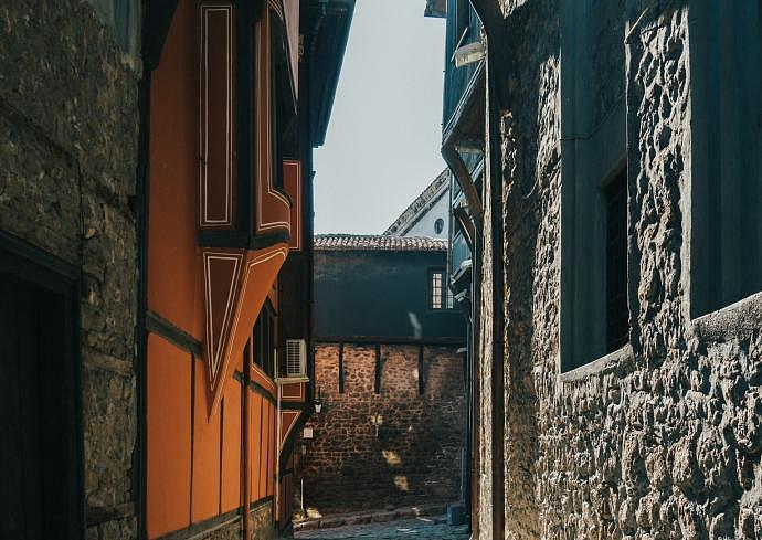 Best neighbourhoods to stay in Plovdiv - Old Town
