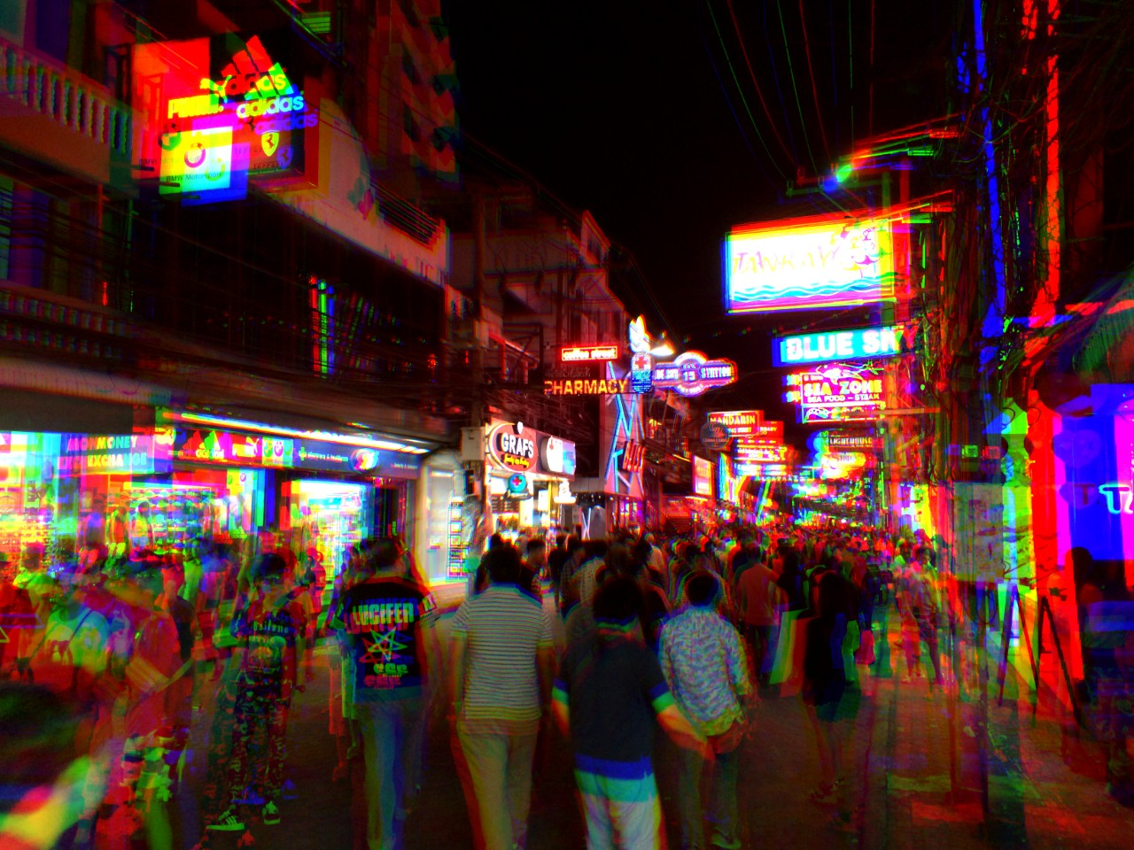 Best area for nightlife in Pattaya - Walking Street
