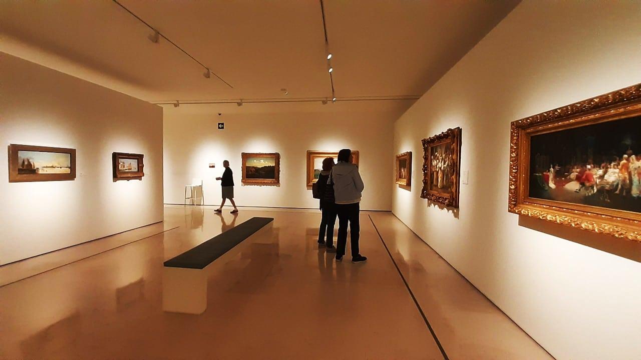 Parte de la colección del Museo Carmen Thyssen Málaga