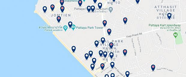 Pattaya - Dongtan Beach - Click to see all hotels on a map