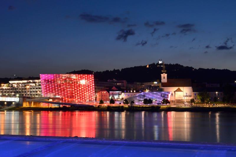Qué hacer en Linz - Ars Electronica Center | Crédito Imagen: Linz Tourismus