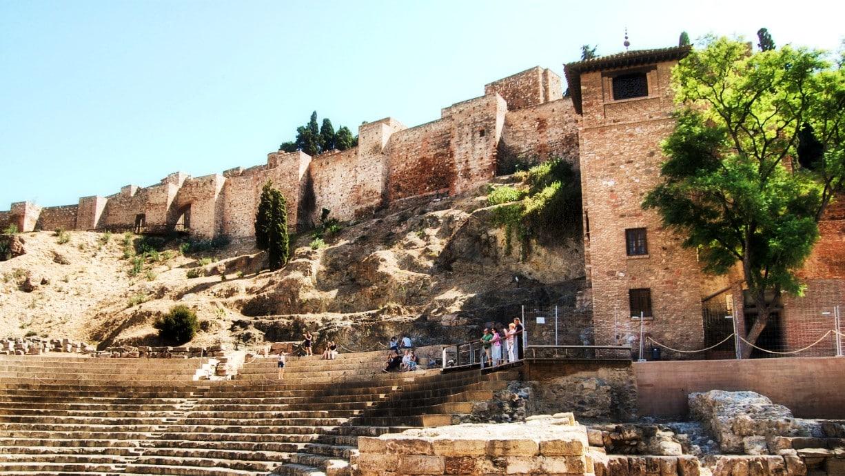 Qué hacer en Málaga - Visitar la alcazaba y el teatro romano