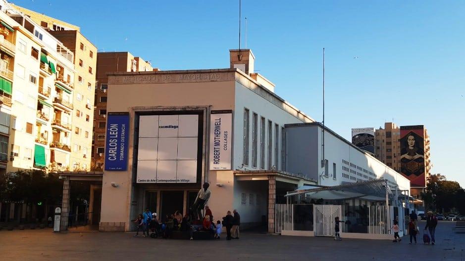 Qué visitar en Málaga - CAC Málaga