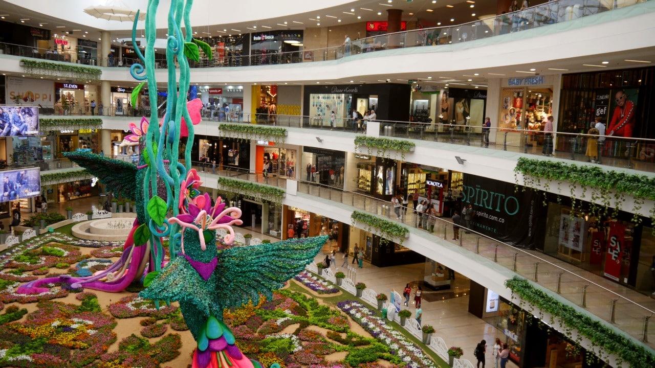 Shopping en Medellín - Centro Comercial Santafé