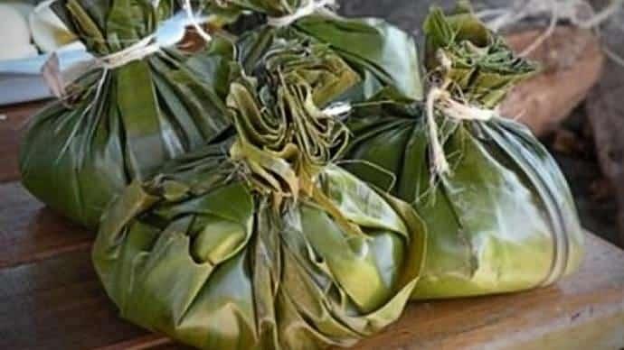 Tamales colombianos - Comida en Colombia