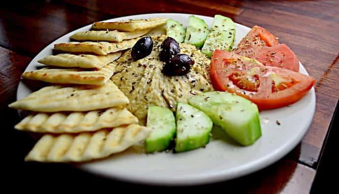 Gastronomía libanesa - Hummus