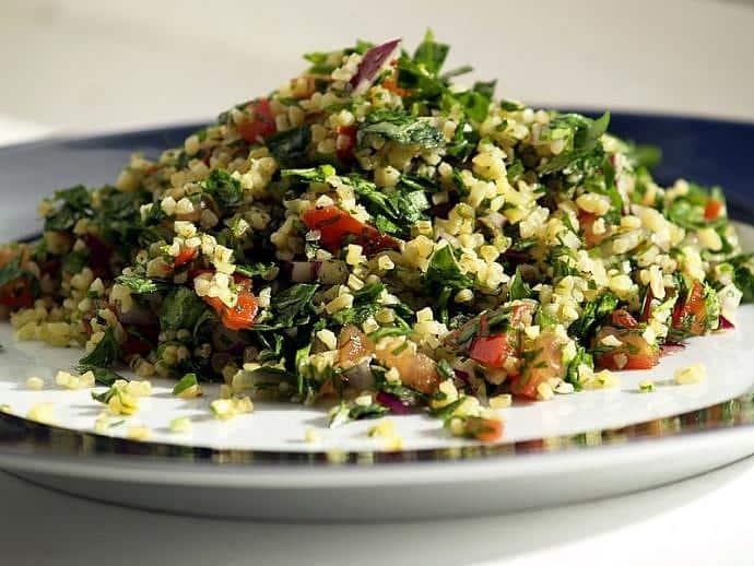 Tabbouleh - Ensalada de la gastronomía libanesa