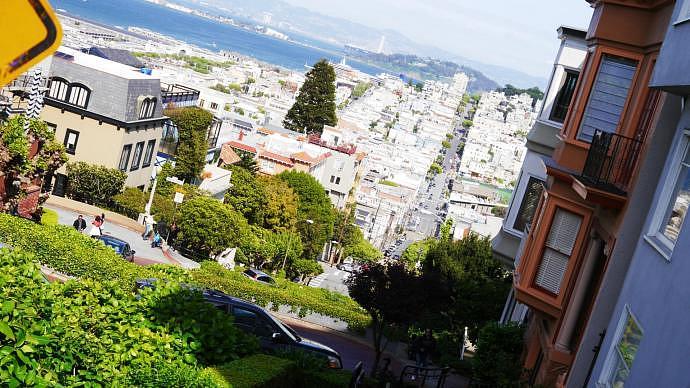 Curiosidades de San Francisco - Sus colinas
