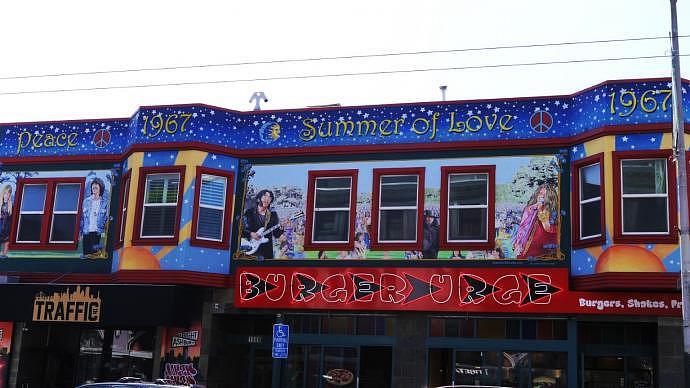 San Francisco se considera el lugar de nacimiento del movimiento hippie
