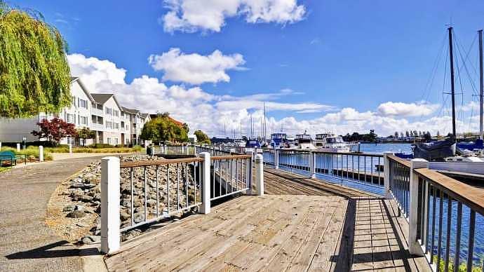 Zona recomendada donde alojarse en Oakland - Waterfront