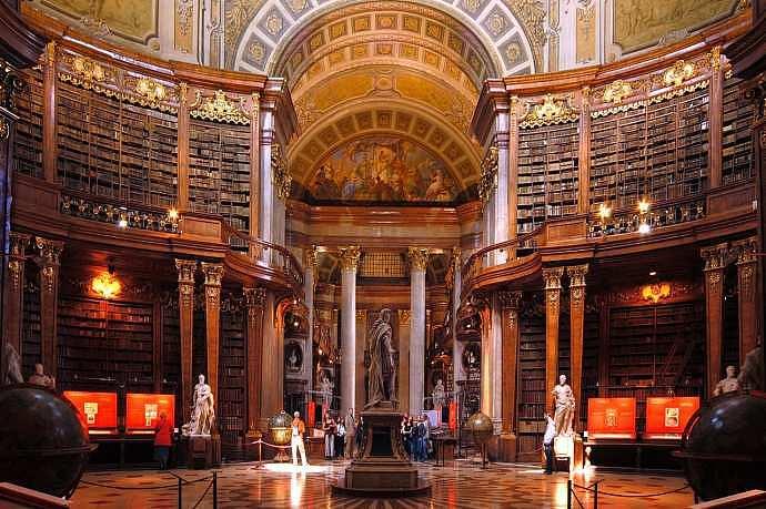Biblioteca Nacional de Austria en Viena