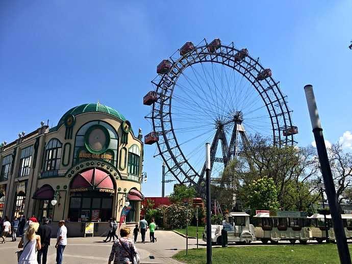 parque de atracciones Prater de Viena