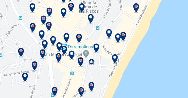 Torremolinos - City Centre - Click to see all hotels on a map