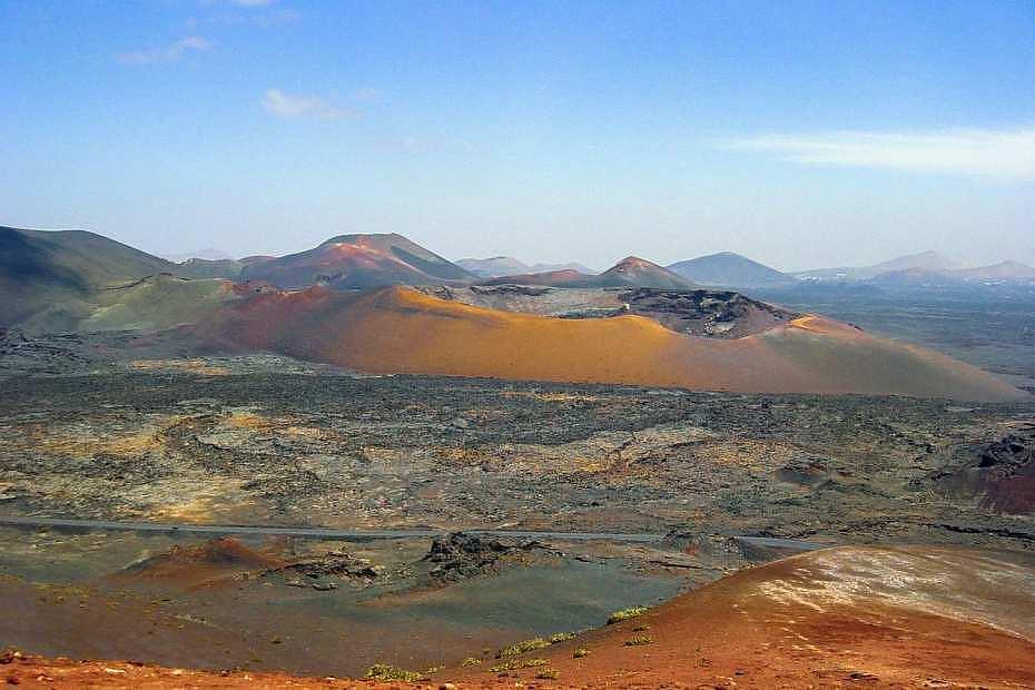 Timanfaya, Lanzarote - Parques nacionales de Canarias