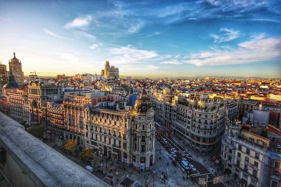 Dónde alojarse en la Gran Vía de Madrid