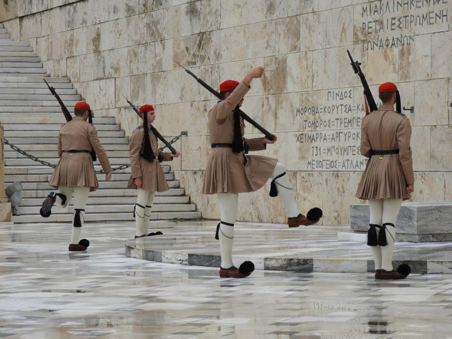Cambio de guardia en el parlamento griego - Mejores barrios de Atenas
