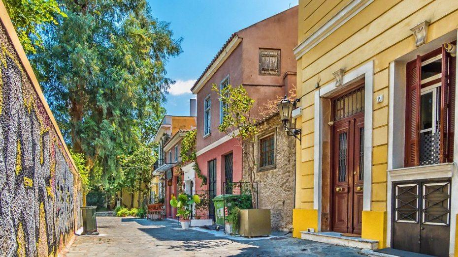 Foto de Plaka, el barrio a los pies de la Acrópolis de Atenas
