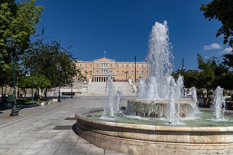 Syntagma, uno de los barrios más céntricos de la capital griega