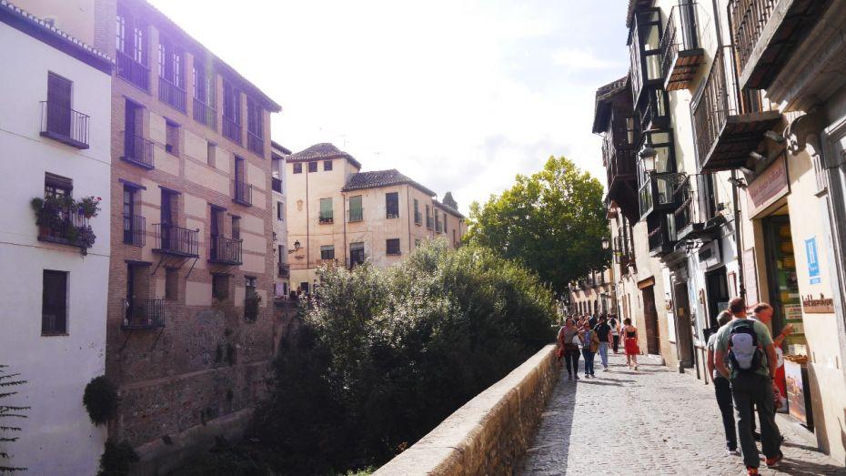 Carrera del Darro - Qué ver en Granada