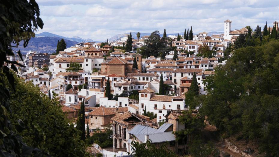 Miradores de Granada - Vistas del Albaicín desde La Alhambra
