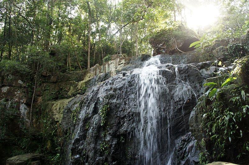 Cascada de Sok San Village - Qué ver en la isla de Koh Rong, Camboya