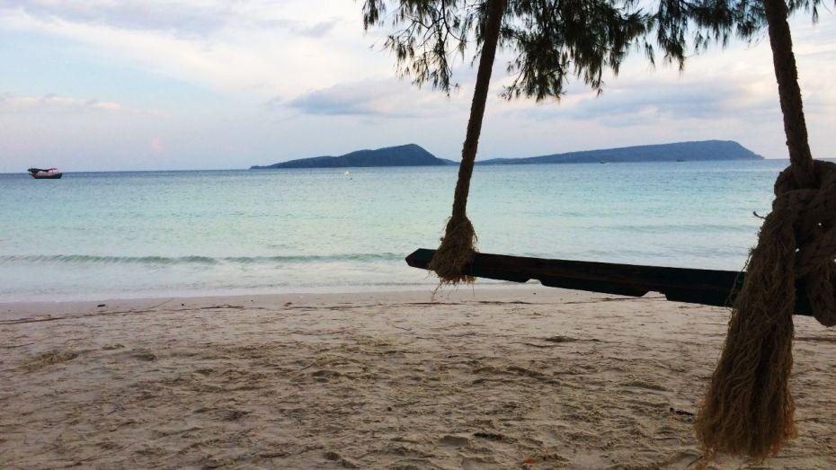 El mejor plan en una isla como Koh Rong puede ser no hacer nada en absoluto