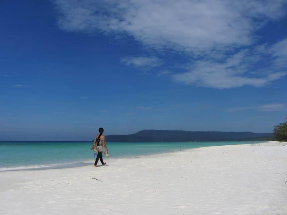 Long Beach: La mejor playa de la isla de Koh Rong, Camboya