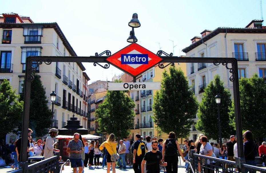 Palacio es uno de los mejores barrios de Madrid en cuanto a conexiones de Metro