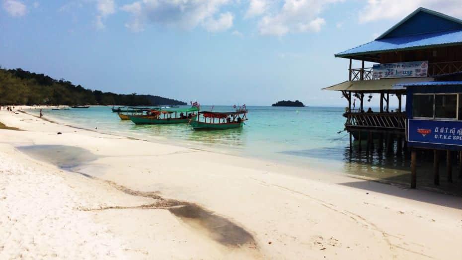 White Beach - Playas de Koh Rong, Camboya