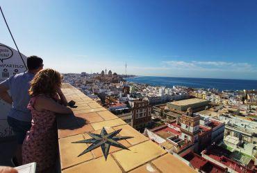 Subir a la Torre Tavira de Cádiz